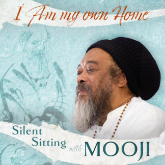 CD cover for the silent sitting with Mooji